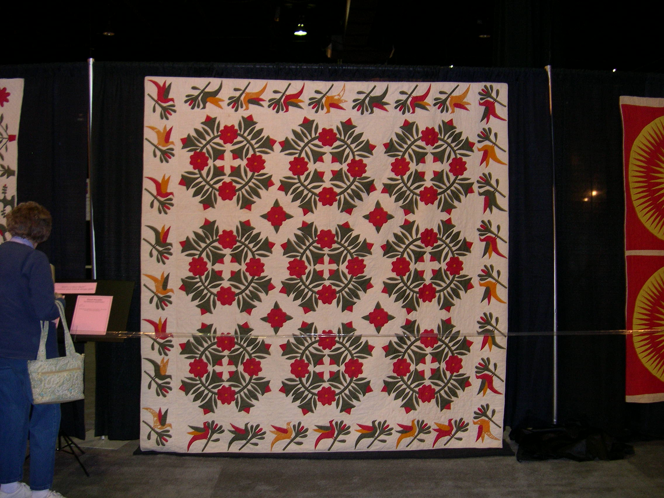 Slide Presentation Of Quilts From Antique Exhibit & Oh